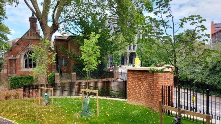 St. Pancras Gardens, Camley Street, London